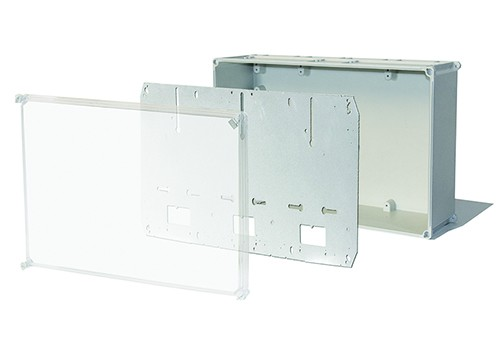 POLYESTER BOXES AND PANELS FOR METERING SYSTEMS