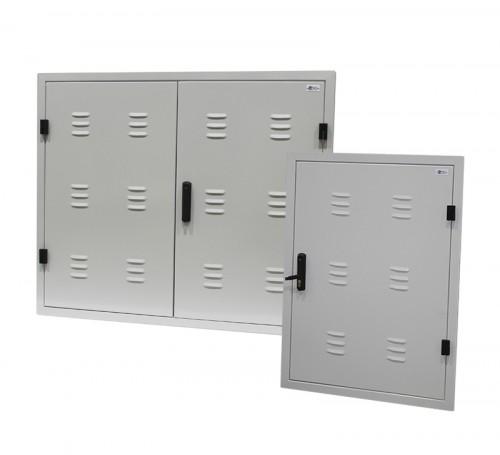 Puertas met licas empotrar norma iberdrola industrias - Puertas norma catalogo ...